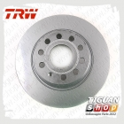 Диск тормозной задний Тигуан TRW DF4558