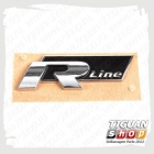 "Эмблема-наклейка ""R-Line"" Тигуан 5N0853688AFXC"