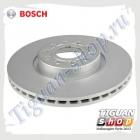 Диск тормозной вентилируемый передний Bosch 0986479932