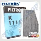 Фильтр салона Тигуан (угольный) Filtron K1111A