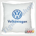 Подушка с логотипом VW белого цвета