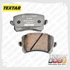 Колодки тормозные задние Тигуан TEXTAR 2448301