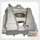 Корпус суппорта передний правый Тигуан 5N0615124