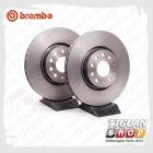 Диск тормозной вентилируемый передний Brembo 09.9772.11