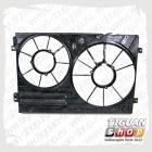 Кожух для двух вентиляторов Тигуан 1K0121205AD9B9
