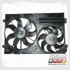 Комплект из 2-х вентиляторов с кожухом Тигуан
