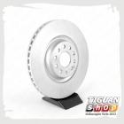 Диск тормозной вентилируемый передний Тигуан 5Q0615301G