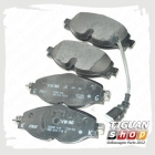 Колодки тормозные передние Тигуан 5Q0698151F