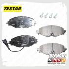 Колодки тормозные передние Тигуан Textar 2568301