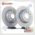 Диск тормозной задний Тигуан Brembo 08.A202.11