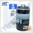 Фильтр масляный Тигуан UFI 23.597.00