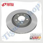 Диск тормозной вентилируемый передний Тигуан Remsa 6147910