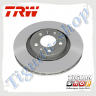 Диск тормозной вентилируемый передний Тигуан Trw DF6695S