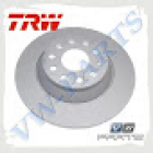 Диск тормозной задний TRW DF6504